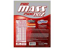 Hipercalórico / Massa Refil Zip Pro Mass 7500 NO2 - 600g Baunilha - Neo Nutri