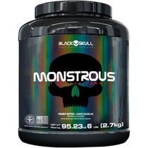Hipercalórico monstrous - 6lb - 2,7kg - Black Skull