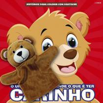 Historias para colorir com fantoche urso - Editora On-Line