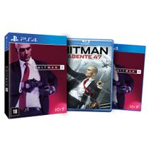 Hitman 2 Ed. Limitada - PS4 + Hitman: Agente 47 Blu-Ray - Warner games