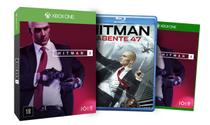 Hitman 2 Ed. Limitada - Xbox One + Hitman: Agente 47 (Blu-Ray) - Warner games
