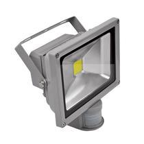 Holofote Refletor Led 20w Branco Frio 6500k Com Sensor Bivolt - Powerxl