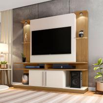 Home Estante Sala Para TV de até 60 Polegadas York com LED - Moveis Bechara