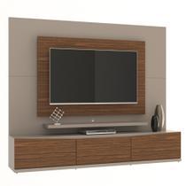 Home para TV Eros III 220 cm Gianduia Dakota - Casa d