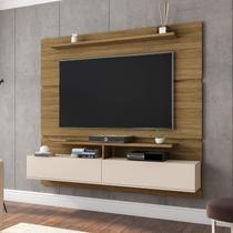 Home Suspenso 2 Portas para TV até 60 Polegadas Angra Móveis Bechara Cinamomo/Off-White - Madeiramadeira