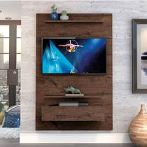 "Home Suspenso Exclusive 120cm P/TV até 49"" Jacarandá - Zanzini -"