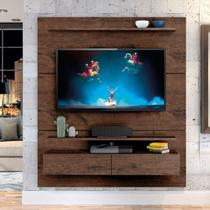 "Home Suspenso Fabuloso 160cm P/TV até 60"" Jacarandá - Zanzini -"