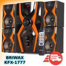 Home Theater 5.1 Sistema Som 70w Bluetooth Mp3 Subwoofer Usb - Briwax