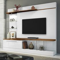 Home Theater Allure - Branco/Canyon - HB Móveis -