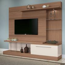 Home Theater Allure - Nature / Off White  - HB Móveis -