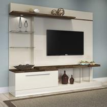 Home Theater Allure - Off White/Deck - HB Móveis -