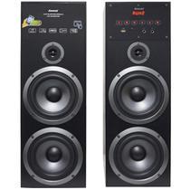 Home Theater Bluetooth 480W Rms Torre 2.0 Usb Fm Caixa Som Amplificada Bivolt Amvox Aca 480 -