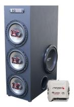 Home Theater Bluetooth 850w Torre Usb Caixa Som Amplificada - Oestesom