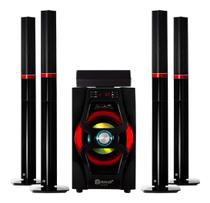 Home Theater Bluetooth Subwoofer 75w 5.1 Canais Dotcell - Mox Dotcell
