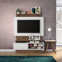 Home Theater com Painel para TV 140cm 1 Porta Correr TB111 Dalla Costa -