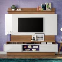 Home Theater com Painel para TV 220cm 2 Portas Correr TB113 Dalla Costa -