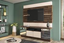 Home Theater Flexo  Deck / Off White  - HB Móveis -