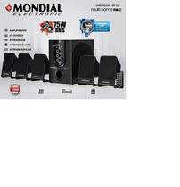 Home Theater Multi Home FM II,Mondial,HT-12, Preto,Grande 127-220V -
