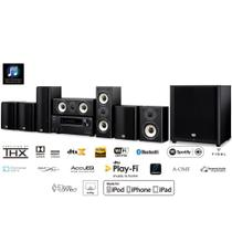 Home Theater Onkyo HT-S9800THX 7.1ch Dolby Atmos DTS:X 4K Bluetooth AirPlay Zona 2 110v -