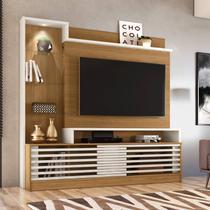 Home Theater p/ TV 55 Madetec Frizz Prime Naturale/Off White -