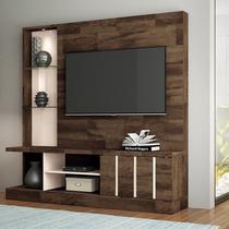 """Home Theater para TV até 50"""" Deck/Off White Eleve- HB Móveis -"""