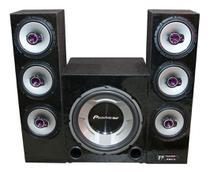 Home Theater Pioneer Torre Stetsom Bluetooth Usb Sd Fm Aux - Oestesom