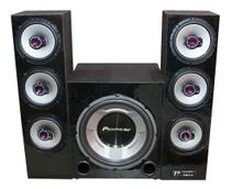 Home Theater Pioneer Torre Taramps Bluetooth Usb Sd Fm Aux - Oestesom