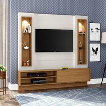 Home Theater TV com Painel 180cm 1 porta correr iluminação LED TB128L Dalla Costa -