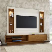 Home Theater TV com Painel 220cm 1 porta correr iluminação LED TB129L Dalla Costa -