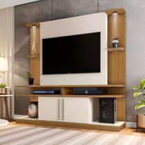 Home York painel e rack para TV até 60 polegadas com Led - Moveis Prolar