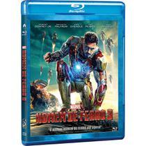 Homem de ferro 3 - Blu-Ray - Marvel