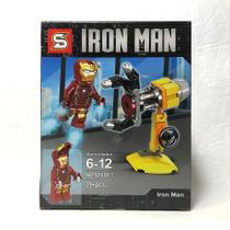 Homem de Ferro Vingadores Marvel Blocos de Montar Boneco Minifigure SY- 650-7 - Pogo