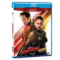 Homem-Formiga e a Vespa 3D - Blu-Ray - Marvel
