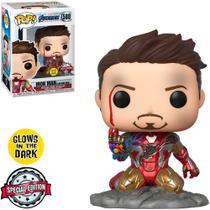 Homen de Ferro - I Am Iron Man Exclusive Glows In Dark - Funko Pop 580 -