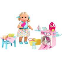 Hora de Comer e Lavar Little Mommy - Mattel FLC04 -