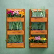 Horta/Floreira Vertical de Parede 120x58cm - Lumbershop