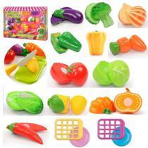 Horti Fruti Frutas Ou Legumes Comidinha Crec Crec Infantil - Braskit