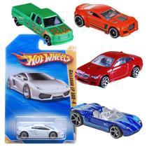 Hot Wheels Carrinho Básico Unidade - Mattel -