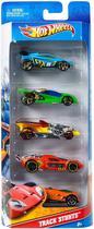 Hot Wheels Carrinhos Básicos Sortidos - 5 un - Mattel 01806 -