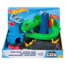 Hot Wheels Conjunto Ataque de Cobra City - Mattel