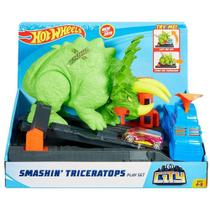 Hot wheels - hw ataque de triceratops - 2019 1 - Mattel