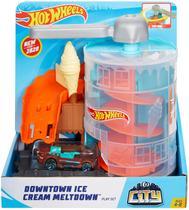 Hot Wheels Loja de Sorvete - Mattel