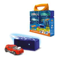 Hot Wheels Maleta Porta Carrinhos Modular com 8 Módulos Fun - Mattel