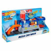 Hot Wheels  Mega Lava Rápido Lava Jato Car Wash - Mattel -
