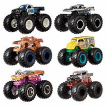 Hot Wheels Pack De 2 Carrinhos Monster Truck Surpresa Fyj64 - Mattel