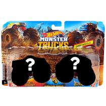 Hot Wheels Pack de 2 Carrinhos Monster Truck Surpresa Fyj64 - Mattel