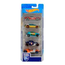 Hot Wheels Pacote Presente com 5 Carros Rocket League - Mattel