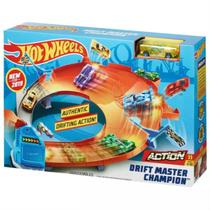 Hot Wheels Pista Campeonato Drifiting - Mattel