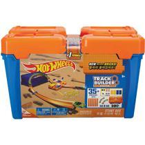 Hot Wheels Pista e Acessorio TRACK Builder Barrel BOX - Planeta Criança
