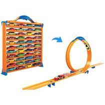 Hot Wheels Porta Carrinhos Pista Carrinhos 3 Em 1 - Barão Toys